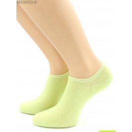 Носки Hobby Line HOBBY 562-13 носки укороченные женские х/б, салатовый