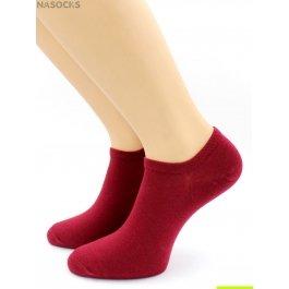 Носки Hobby Line HOBBY 562-15 носки укороченные женские х/б, малиновый
