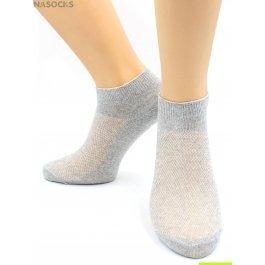 Носки Hobby Line HOBBY 014-4 носки мужские укороченные х/б однотонные, сверху сеточка