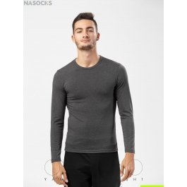 Футболка лонгслив Oxouno OXO 0384 KULIR 01 Slim fit U-вырез