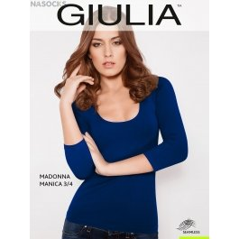 Распродажа футболка Giulia MAGLIA SCOLLO MADONNA MANICA женская