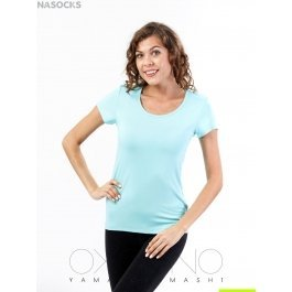 Футболка Oxouno OXO 0817 KULIR 15 Slim fit V-вырез