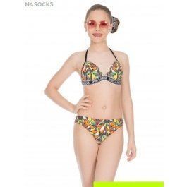Купальник для девочек-подростков+ шорты Charmante YD 041901 AF