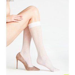 Гольфы Dot 15 den Women Knee-high Socks Falke 41852