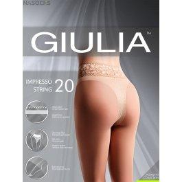 Колготки Giulia IMPRESSO STRING 20