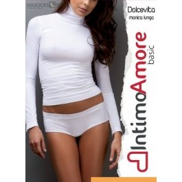 Распродажа водолазка женская IntimoAmore seamless Dolce vita manica lunga