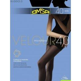 Распродажа колготки женские с микрофиброй OMSA Velour 40 den