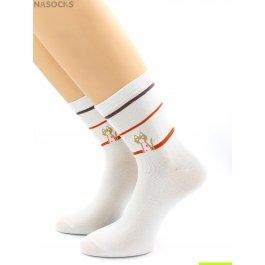 Носки Hobby Line HOBBY 242-5 женские экслюзив, киса в полосочку