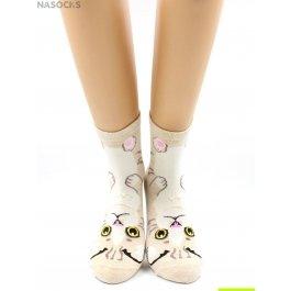 Носки Hobby Line HOBBY 409-1 женские экслюзив, кошечки