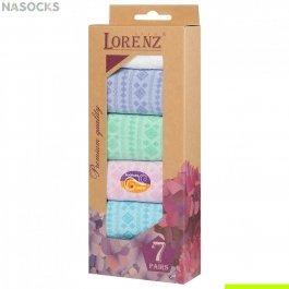 Подарочный набор женских носков, 7 пар, Lorenz Р36