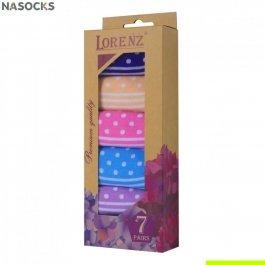 Подарочный набор женских носков, 7 пар, Lorenz Р22