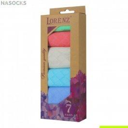 Подарочный набор женских носков, 7 пар, Lorenz Р21