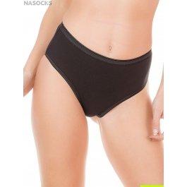 Распродажа трусы-слип женские из хлопка с эластаном, с широкой боковой частью Jadea 7002 (комплект 3 шт.) slip midi