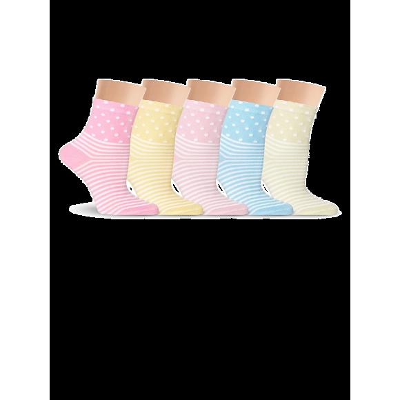 Купить Носки женские из хлопка Super Soft, с рисунком Lorenz Д12