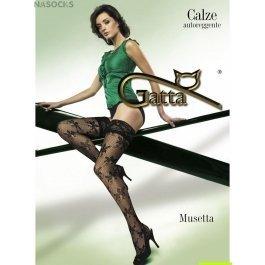 Чулки женские ажурного плетения Gatta Calze Musetta