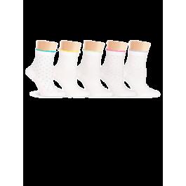 Носки женские из хлопка Super Soft, с рисунком Lorenz Д15