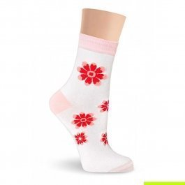 Носки женские из хлопка Super Soft, с рисунком Lorenz Д30