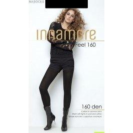 Колготки женские теплые, с хлопком и шерстью Innamore Feel 160 den