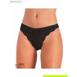 Трусы-слип женские с кружевными вставками и ажурной резинкой Jadea 1073 slip