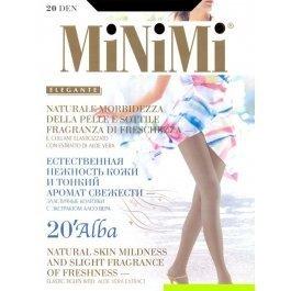 Колготки женские классические, ароматизированные MiNiMi Alba 20 den