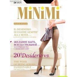 Колготки женские классические, с заниженной талией MiNiMi Desiderio 20 den vita bassa