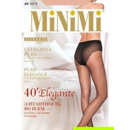 Колготки женские классические, с утягивающими трусиками MiNiMi Elegante 40 den