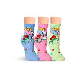 Носки детские для девочек, с феями Lorenz П1