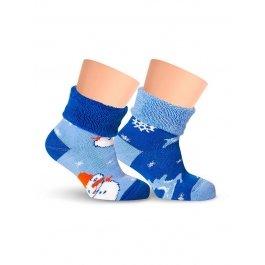 Носки детские махровые, с отворотом Lorenz Л14