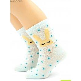 Распродажа носки Hobby Line HOBBY 132 детские сеточка х/б, зайки