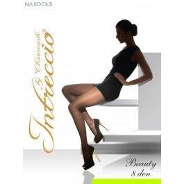 Распродажа колготки женские классические с шортиками без ластовицы INTRECCIO   8 DEN BEAUTY 8