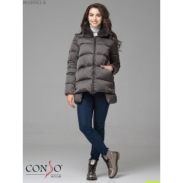 Женская пуховая куртка Conso WSF 180544