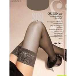 Распродажа чулки женские прозрачные, с лайкрой SiSi Quenn 40 den