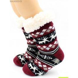 "Носки Hobby Line HOBBY 30765 -1 детские носки с мехом внутри ""Олени"""
