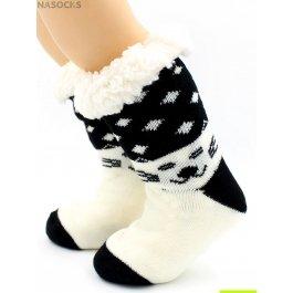 "Носки Hobby Line HOBBY 30772 -6 детские носки с мехом внутри ""Мордашка кота"""