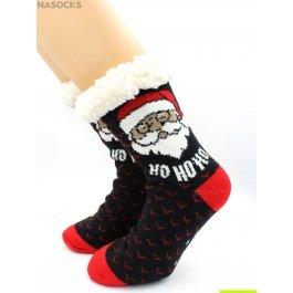 "Носки Hobby Line HOBBY 30591-1 женские носки с мехом внутри ""Но-Но-Но"""