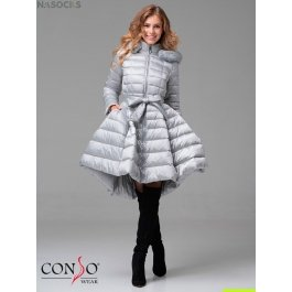Женское пуховое пальто Conso WMF 180510