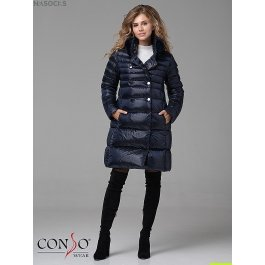 Женское пуховое пальто Conso WMF 180520