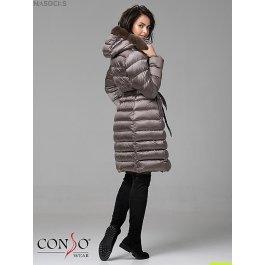 Женское пуховое пальто Conso WMF 180505