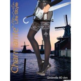 Купить Колготки Charmante UMBRELLA 60 женские с рисунком имитация чулок