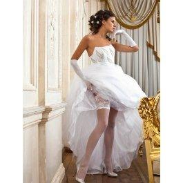 Купить Чулки Charmante SP ROSETTA 20 aut. женские свадебные с рисунком