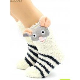 Носки Hobby Line HOBBY 3327-6 детские махровые травка, Мышка 3Д