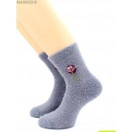 Носки Hobby Line HOBBY 7810 носки женские с пухом цветочек из искусств.соболя полностью