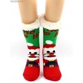"Носки Hobby Line HOBBY 30591-5 женские носки с мехом внутри ""Santa Claus"""