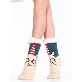 Носки Hobby Line HOBBY 30599-4 женские носки с мехом внутри новогодние