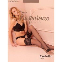 Чулки женские Trasparenze Carlotta 30 Autoreggente