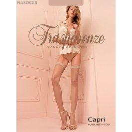 Чулки  женские Trasparenze Capri 8 Autoreggente