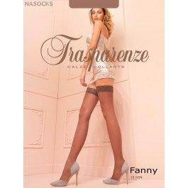 Чулки женские Trasparenze Fanny 15 Autoreggente