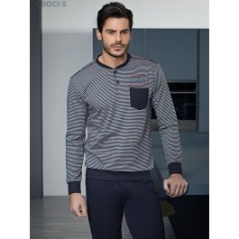 Пижама Enrico Coveri EP 6074 pigiama