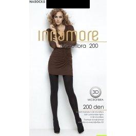 Распродажа колготки женские теплые, из микрофибры Innamore Microfibra  200 XXL