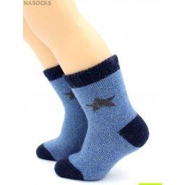 Распродажа носки Hobby Line HOBBY 7616 детские ангора, махра внутри, звездочка